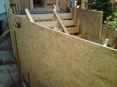 Debnenie točitých schodov