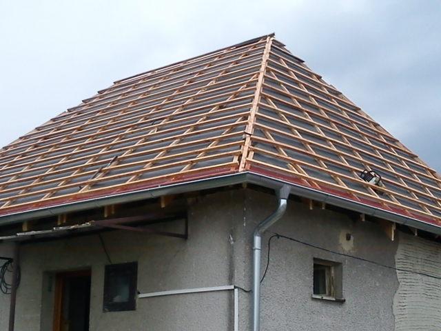 suffo - Zalatovaná strecha s foliou