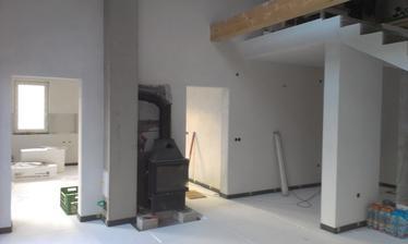 Polystyren už položený aj v obývačke