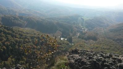 Pohľad na Rematu z Bralovej skaly