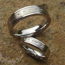 nase prsteny s morseovkou...bud takto....