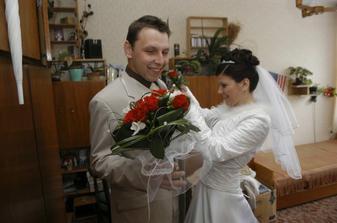 Po předání kytičky taky korsář pro ženicha