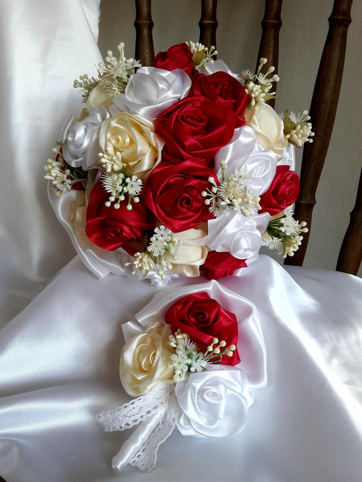 Saténové ruže - Obrázok č. 2