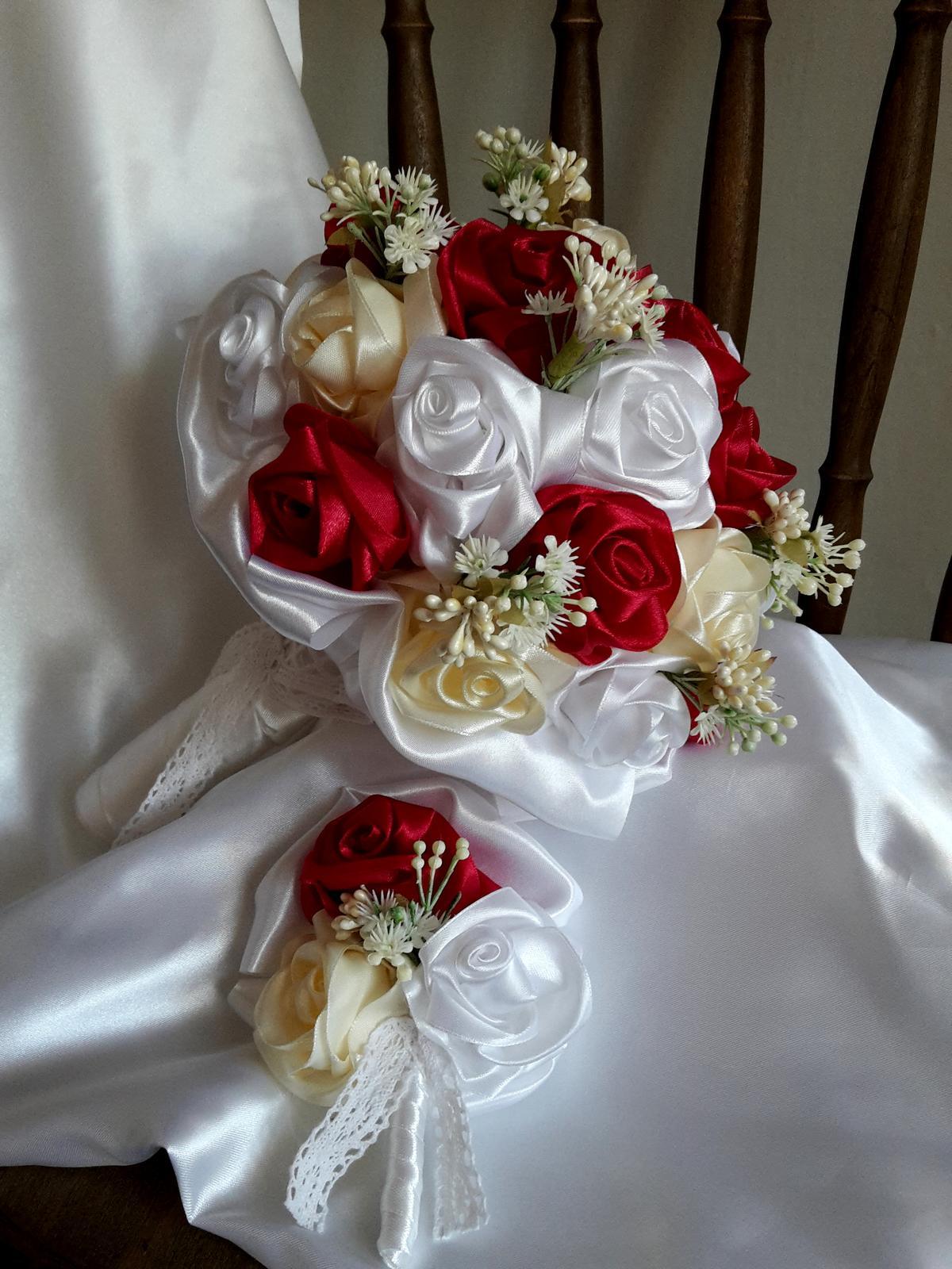 Saténové ruže - Obrázok č. 3