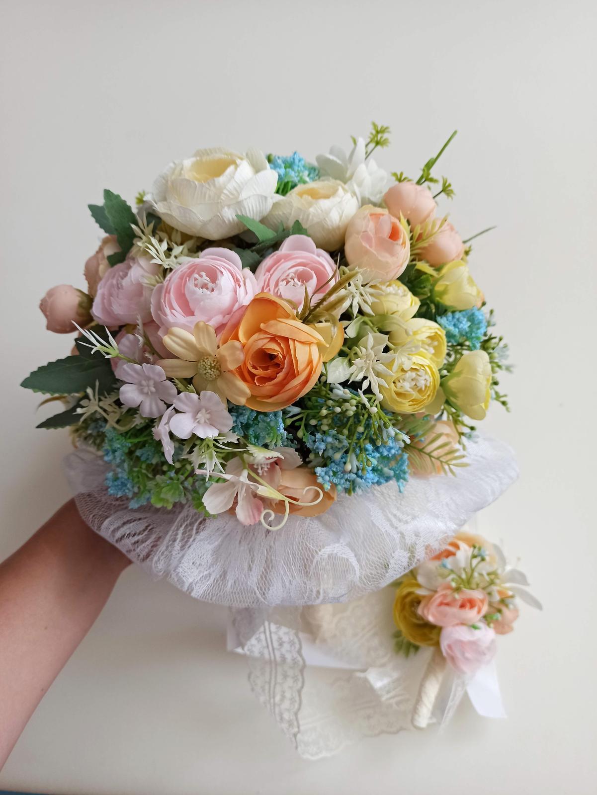 Z umelých kvetov - Obrázok č. 55