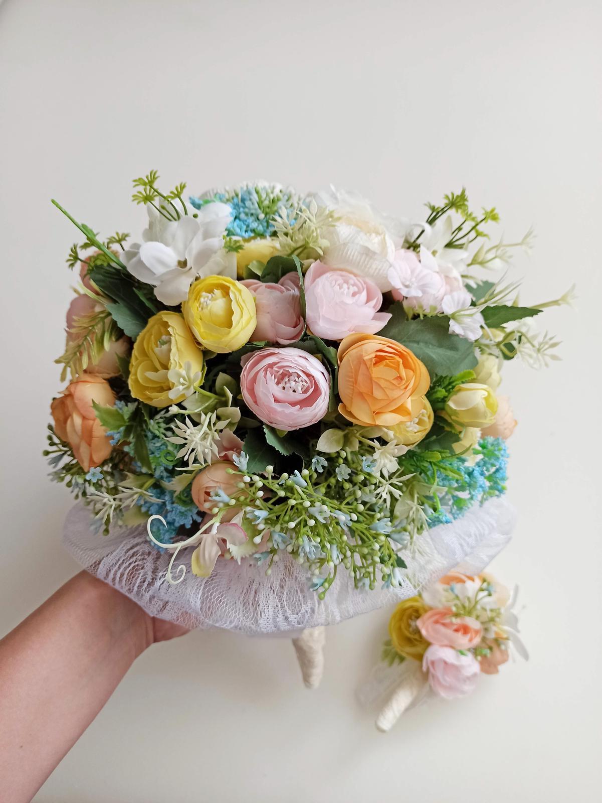 Z umelých kvetov - Obrázok č. 56