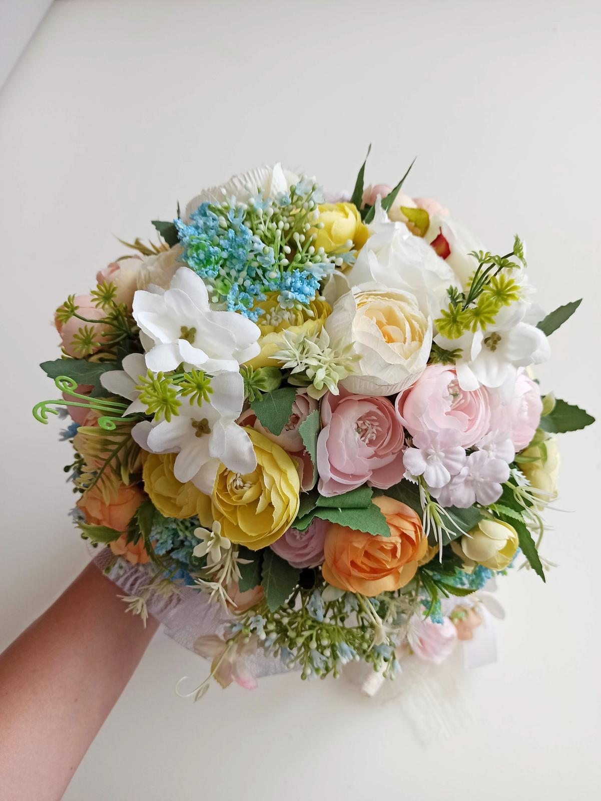 Z umelých kvetov - Obrázok č. 58