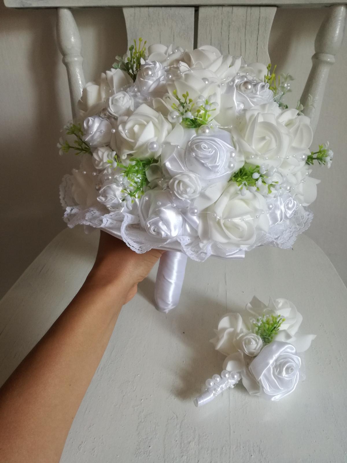 Svadobná kytička,pošta v cene - Obrázok č. 1