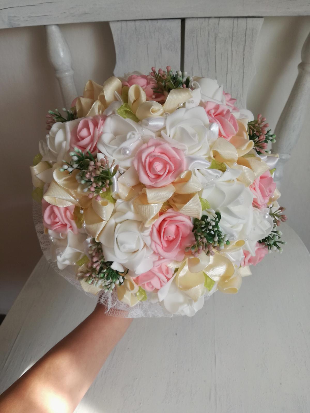 Krémovo ružová,pošta v cene - Obrázok č. 1