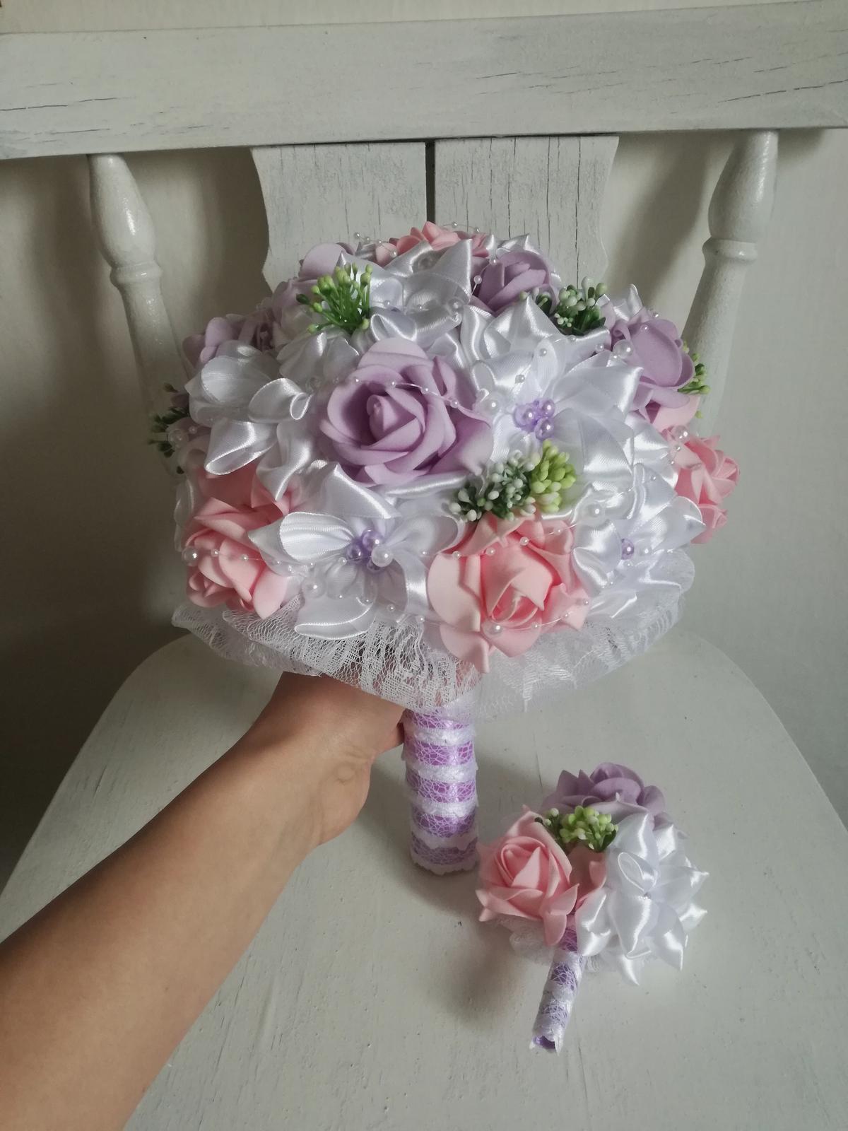 Fialovo ružová,pošta v cene - Obrázok č. 3