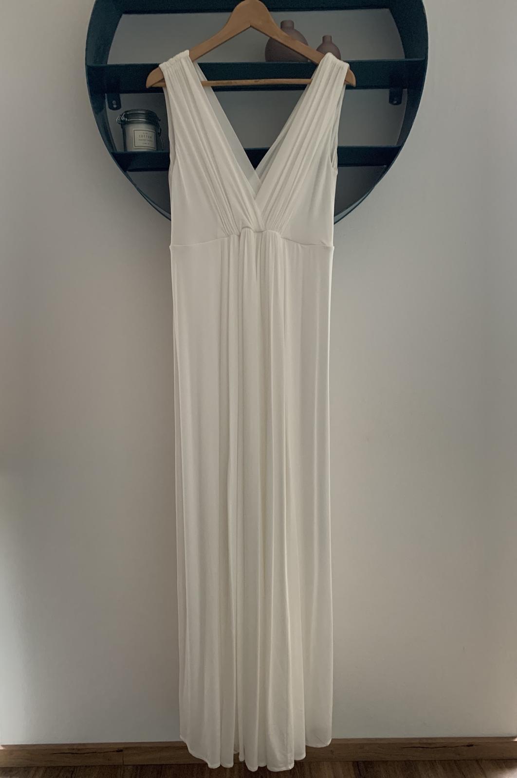 Tehotenské svadobné šaty Tiffany Rose Anastasia - Obrázok č. 1