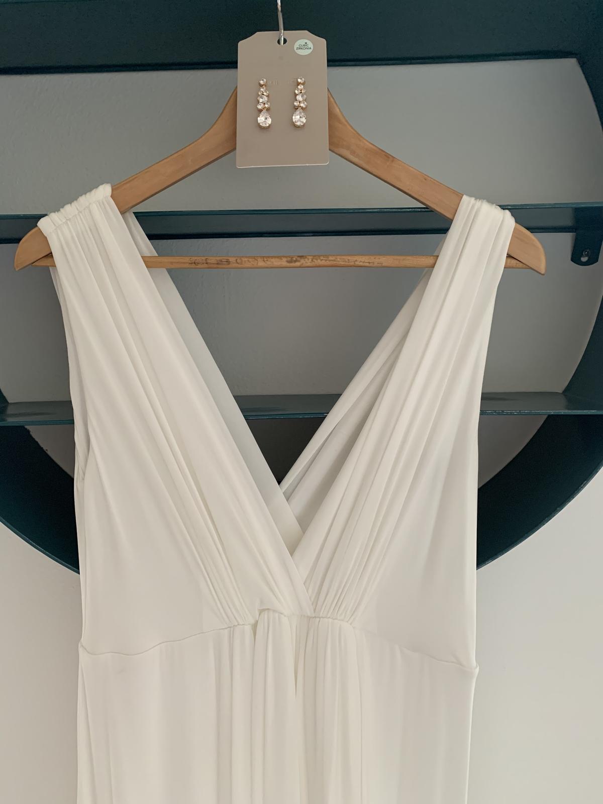 Tehotenské svadobné šaty Tiffany Rose Anastasia - Obrázok č. 3
