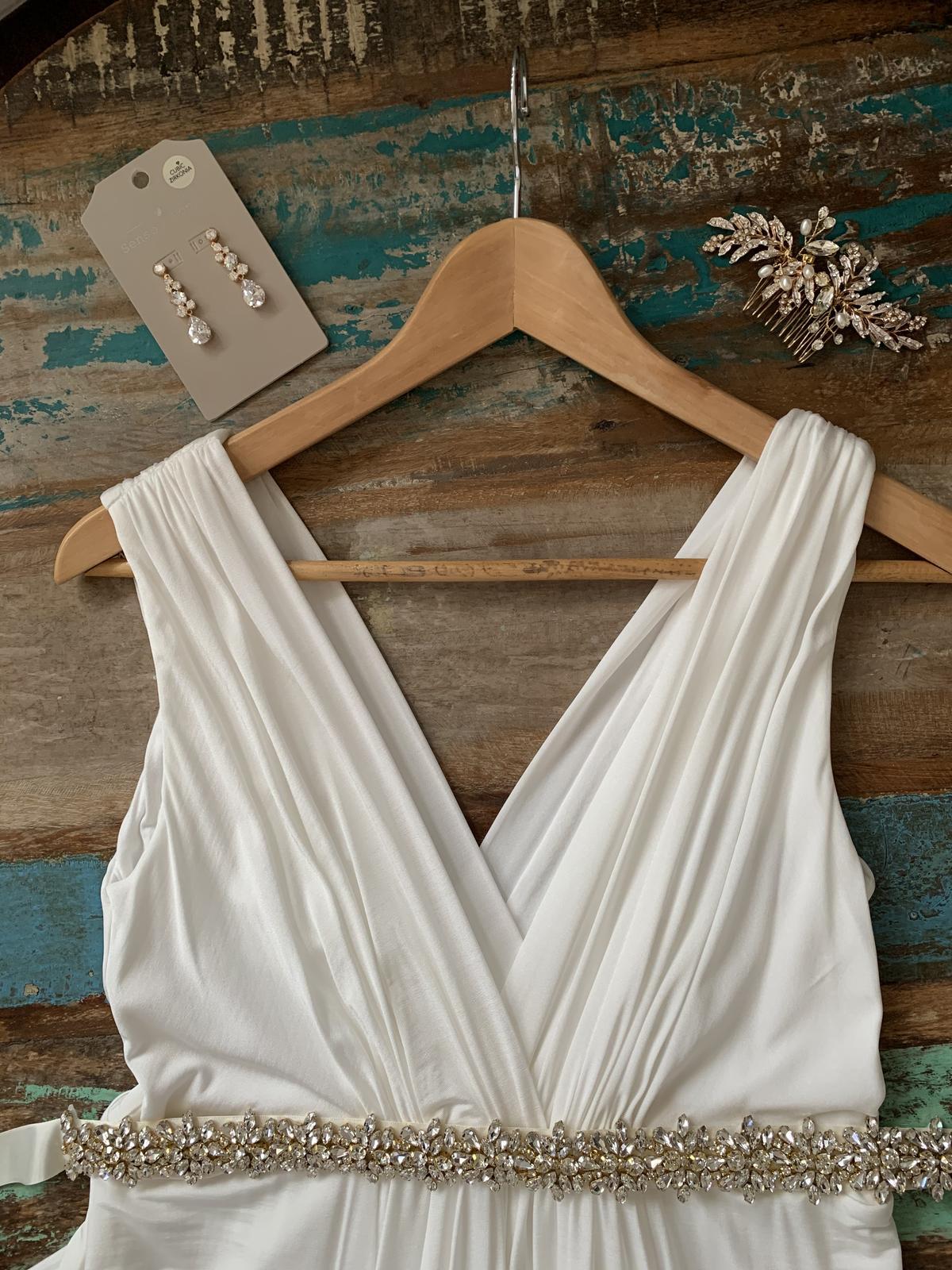 Tehotenské svadobné šaty Tiffany Rose Anastasia - Obrázok č. 4