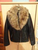 Koženková bunda, XL