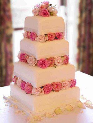 Budeme manželia :) - elegoš torta