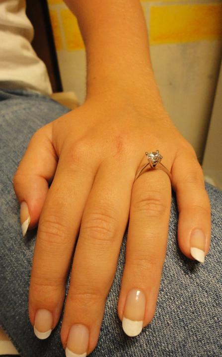 Budeme manželia :) - toto je môj zásnubný :)