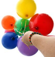 budú balóniky, minimálne na fotenie :)