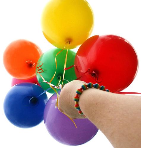 Budeme manželia :) - budú balóniky, minimálne na fotenie :)