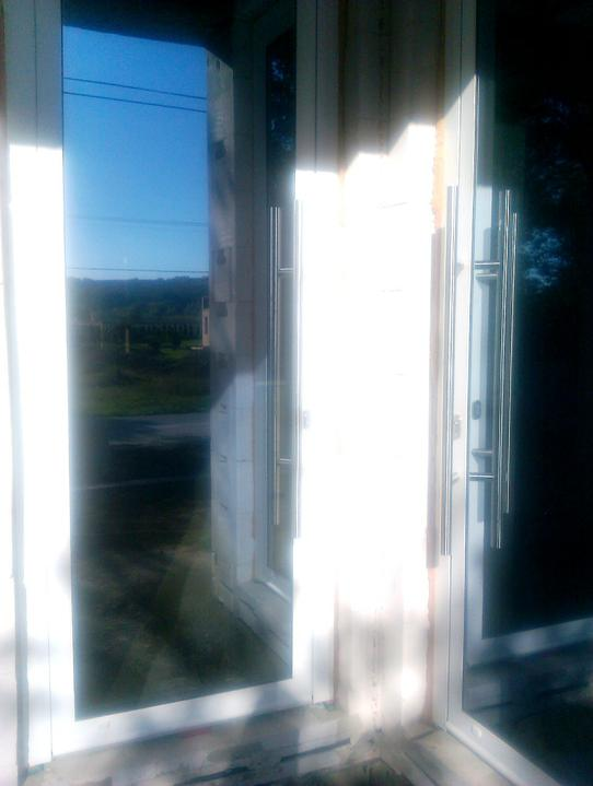 Dom_stavba_vybavenie - 15.10.2011 dvere aj s madlami dokoncene :-)
