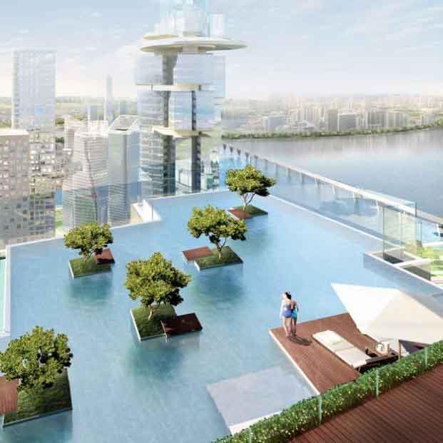 Tady bych se chtěla někdy vykoupat ... jeden z dalších mých nesplněných snů :-)