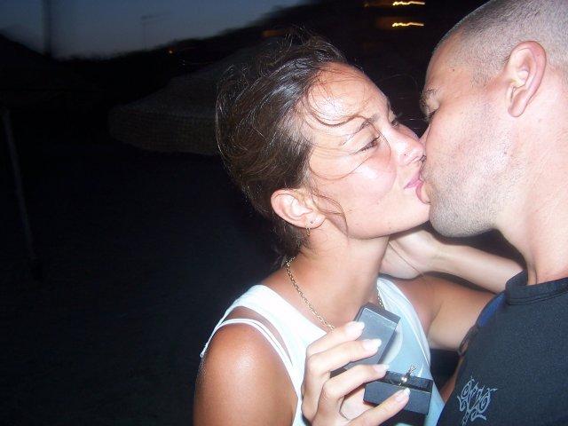Prvý letný dník 2008 a naša svadba:) - Niekoľko minút po požiadaní o ruku v Mahdii 2006
