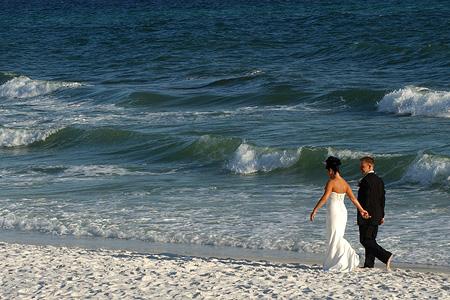 Prvý letný dník 2008 a naša svadba:) - To úžasné more..