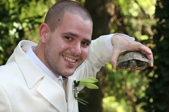 Aj korytnačka sa chcela odfotiť
