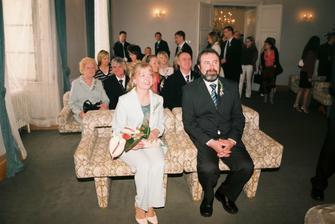 .......rodiče nevěsty
