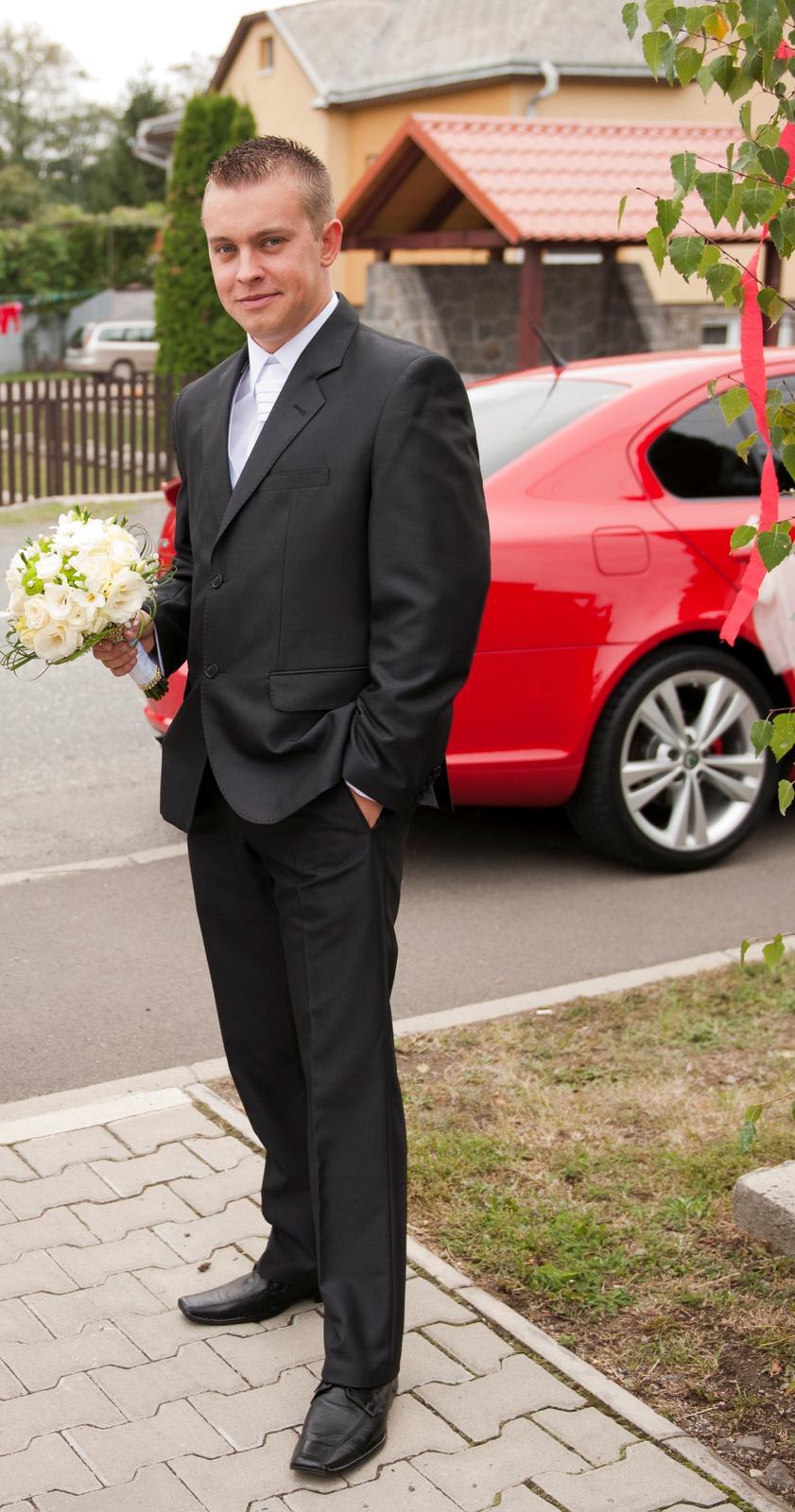 Pánsky svadobný oblek - Obrázek č. 1