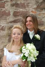 novomanželé