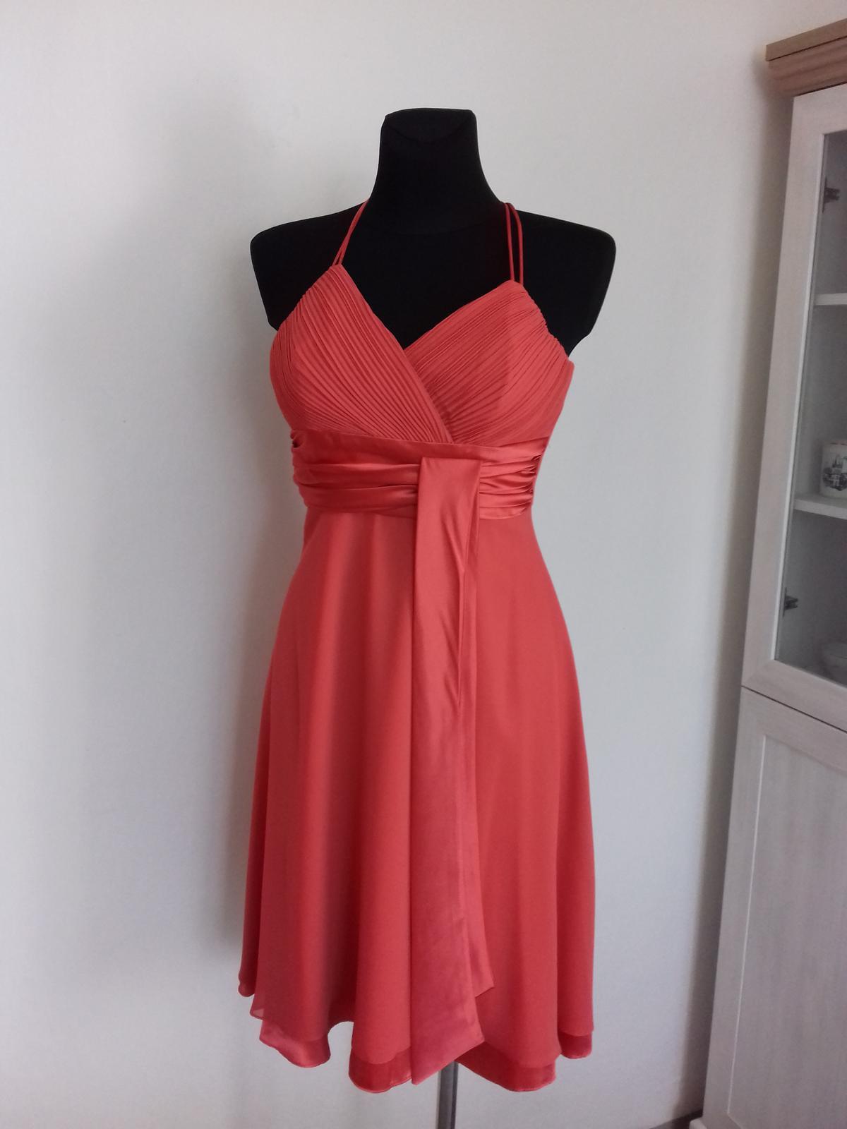 Společenské šaty krátké - Obrázek č. 1