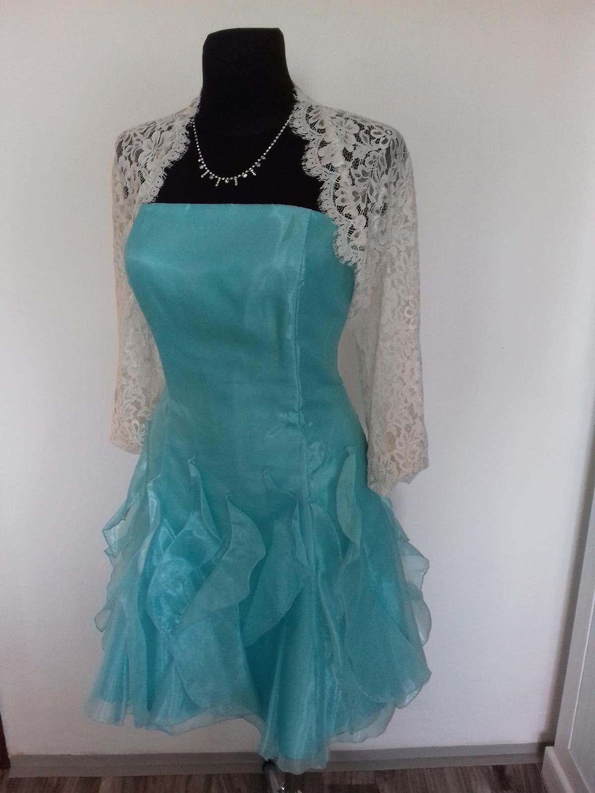 Společenské šaty krátké - Obrázek č. 3