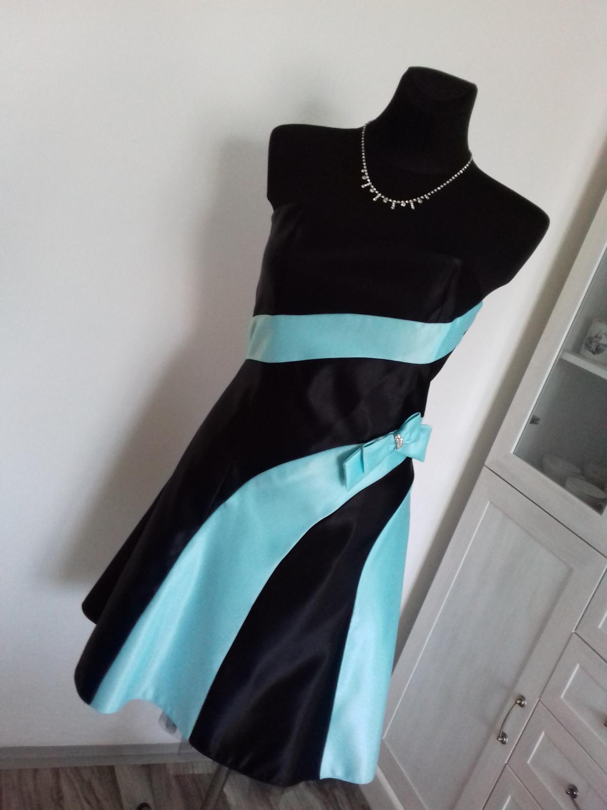 Společenské šaty krátké - Obrázek č. 4