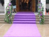 Půjčím fialový koberec,