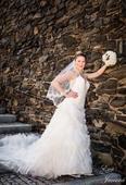 svatební šaty Pronovians mod. Macarena 38- prodej, 38
