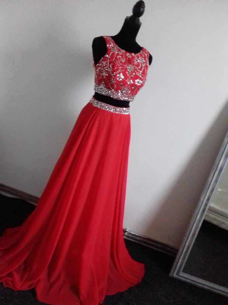 Maturitní šaty- půjčení nebo prodej vel.36 - Obrázek č. 1