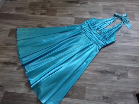 Plesové šaty vel.40 - Obrázek č. 1