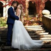 svatební šaty vel. 38 Boho, 38
