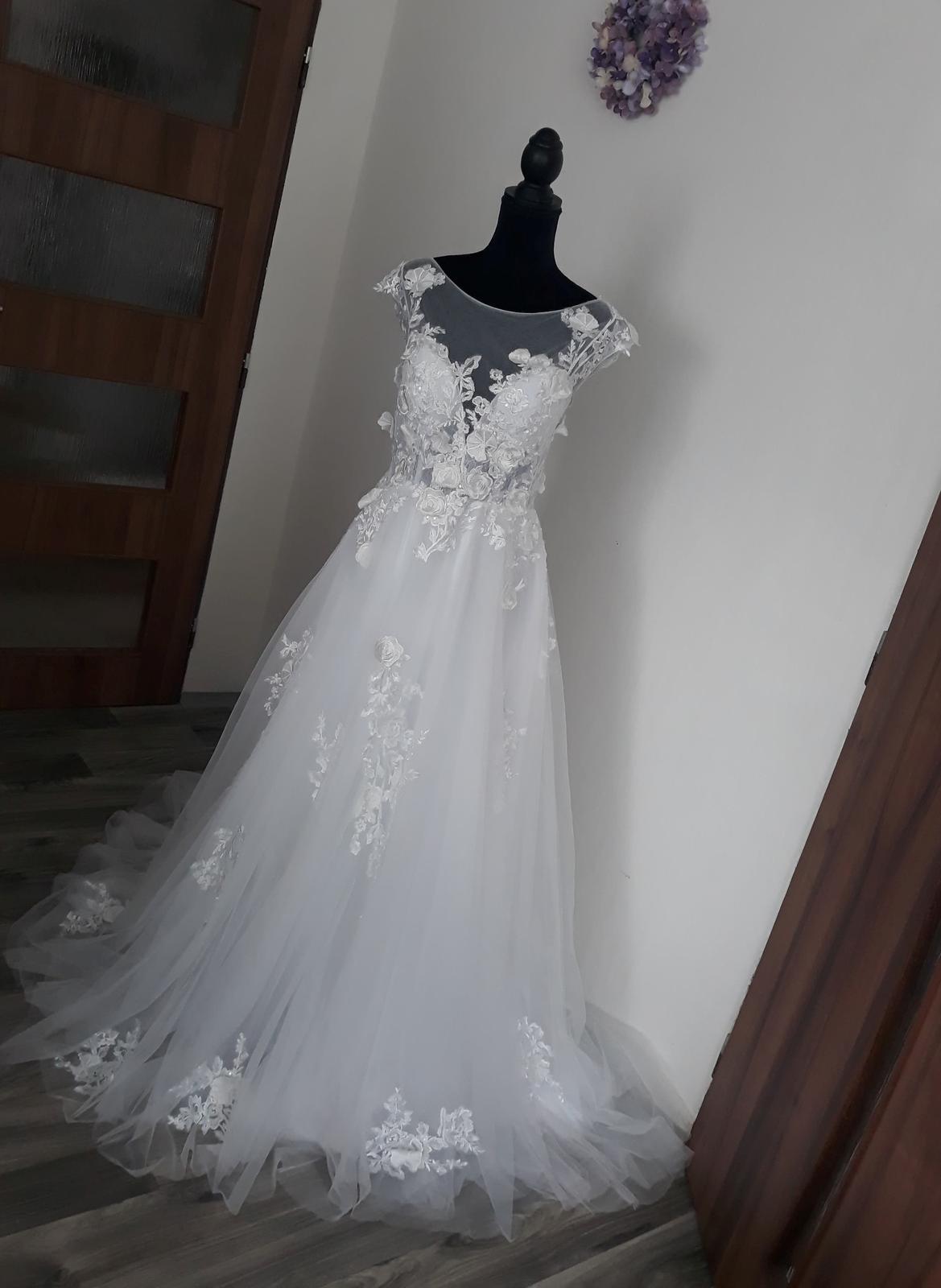 Nové svatební boho šaty- od 2500,- - Obrázek č. 1