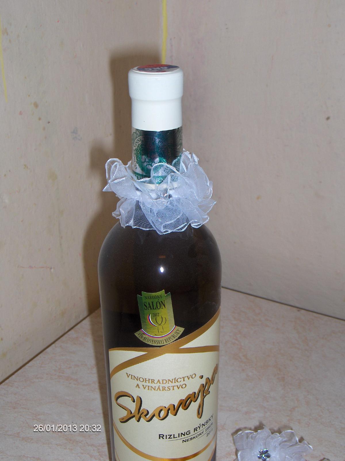 ozdoby na fľašu nepoužité - Obrázok č. 3
