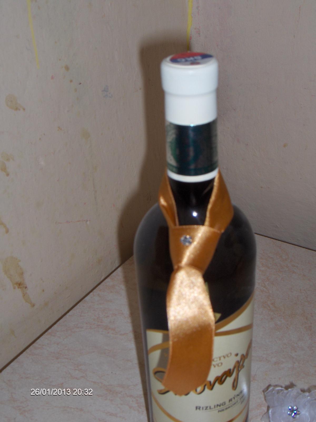 ozdoby na fľašu nepoužité - Obrázok č. 2