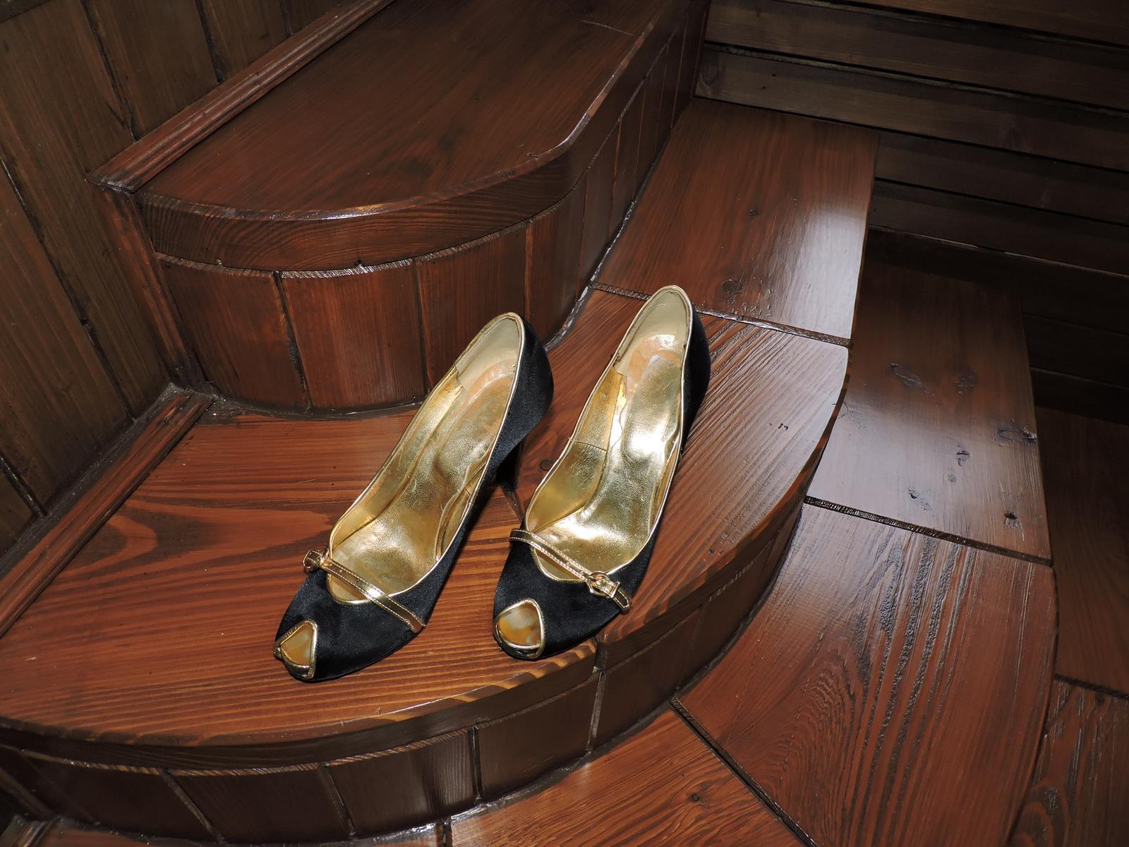 topánkys otvorenou špičkou top stav - Obrázok č. 3
