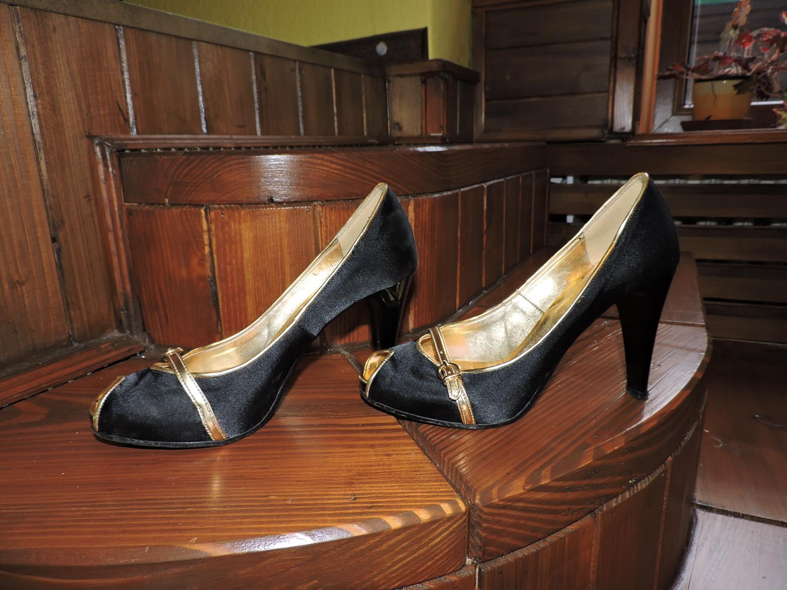 topánkys otvorenou špičkou top stav - Obrázok č. 2