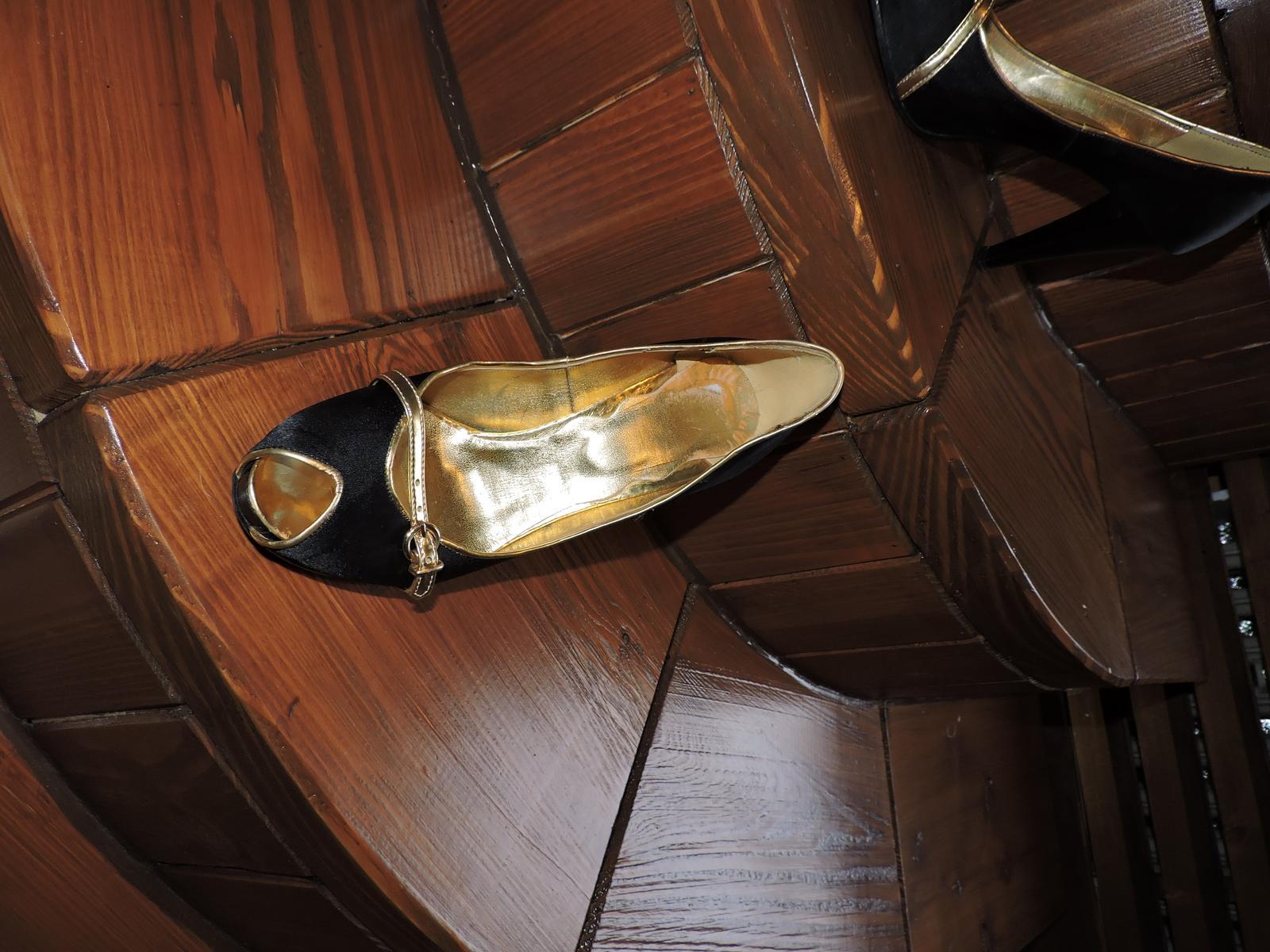 topánkys otvorenou špičkou top stav - Obrázok č. 4
