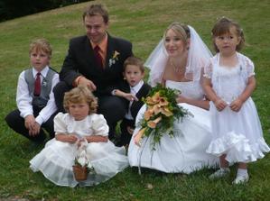 krásná fotka s dětičkama