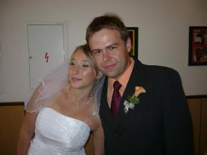 novomanželé Vodičkovi...
