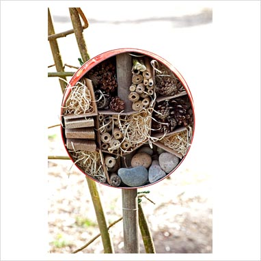 Zahradne inspiracie z netu - Domček pre chrobáčiky...