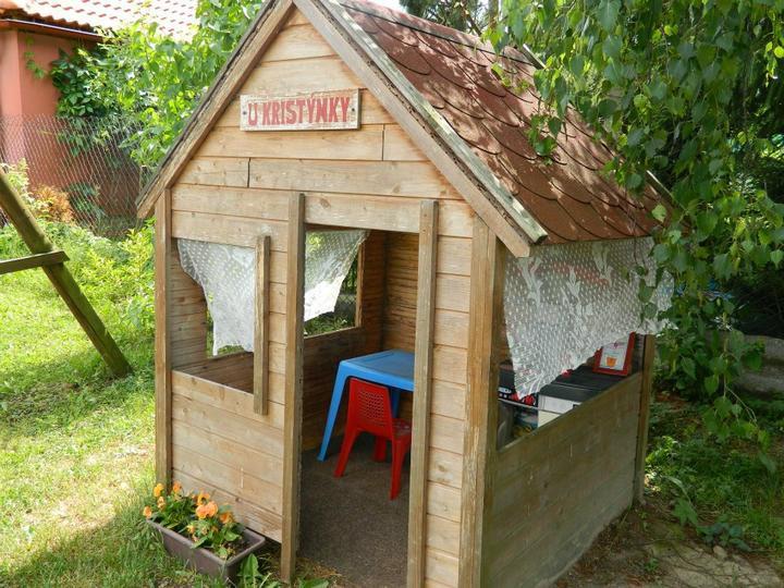 Domček v záhrade - Pre deticky