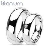 snubní prsteny titan