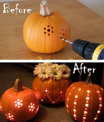 Dobré nápady - Místo nože vemte vrtačku:-)